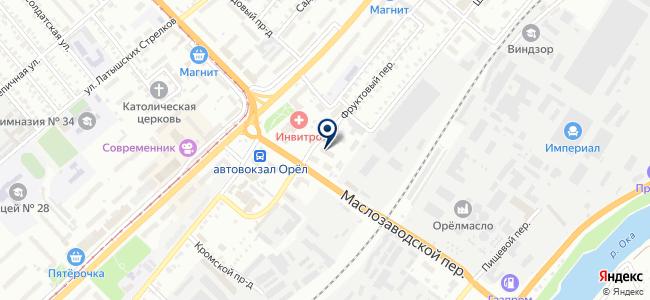 Флагман, ООО на карте