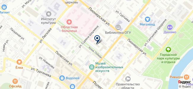 Радио Бульвар на карте