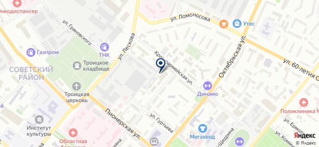 Макон, ООО на карте