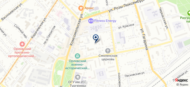 Эталон, ООО на карте