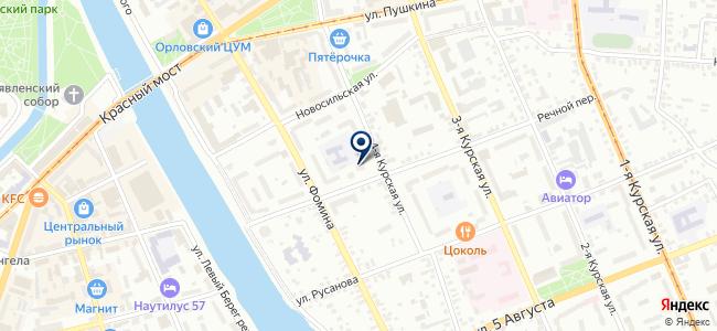 Старк, ООО на карте