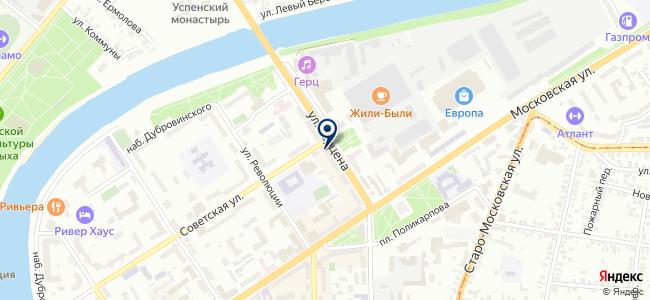 Бульдозер на карте