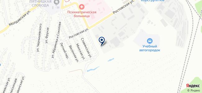 Промстройэнергомонтаж, ЗАО на карте