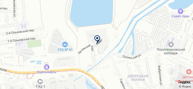 Курскэнергоспецремонт на карте