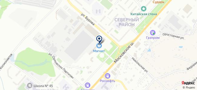 Рубин технологии, ООО на карте
