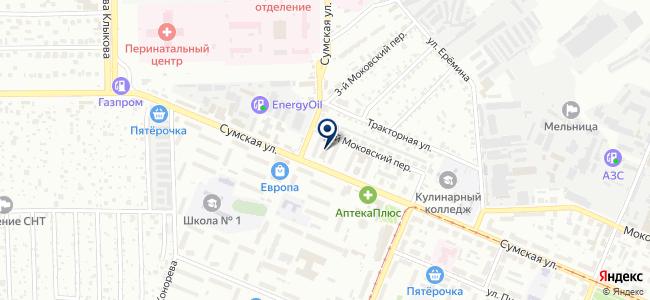 Бонжур-Абажур на карте