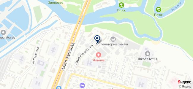 Импульс Электро на карте