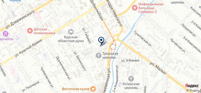 Курскконтакт на карте