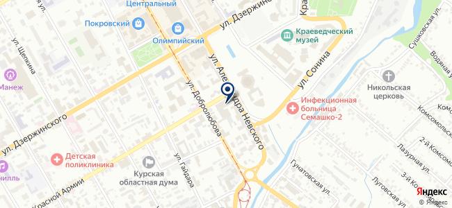 ПРОФинструмент на карте