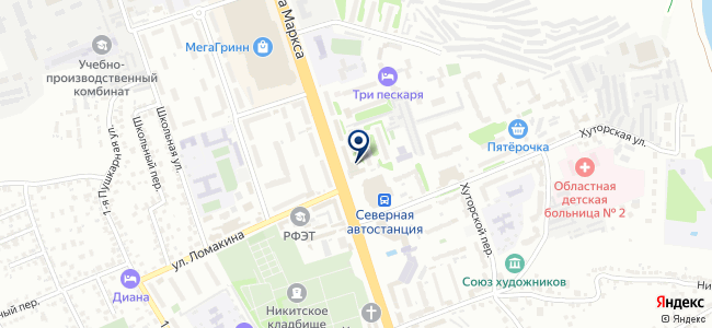 TransBuild на карте