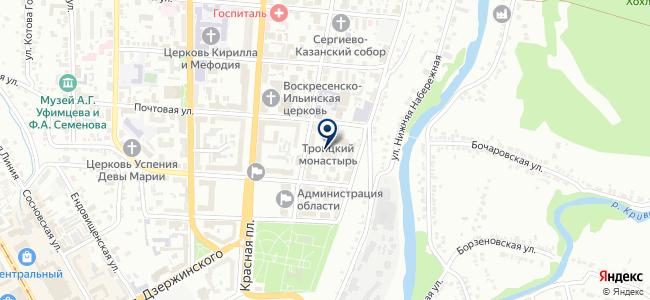 Техпроминвест на карте