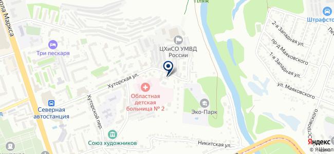 Кварцоль на карте