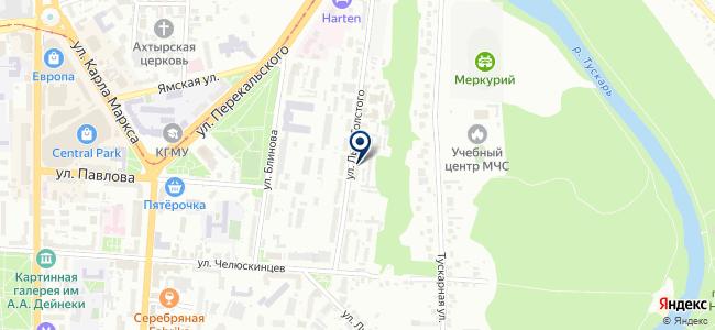 Дункан-Курск на карте