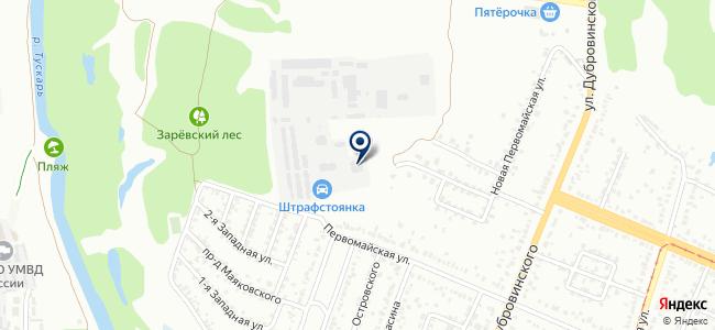 База Электрооборудования на карте