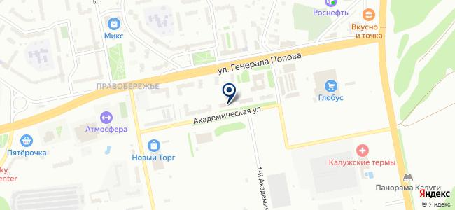 Антрэл на карте