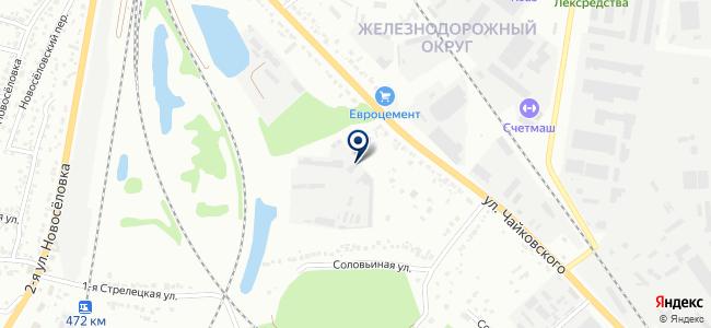 Лэп Строй Комплект на карте