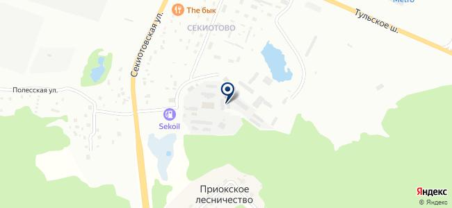 КВТ на карте