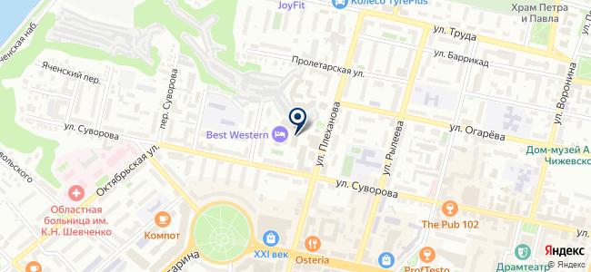 МаЭРЗ на карте