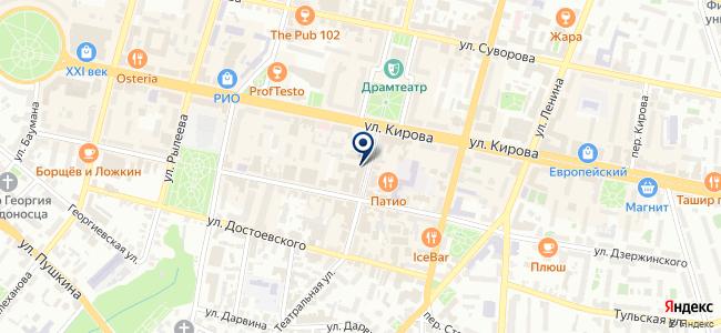 Магазин электроники и инструментов на карте