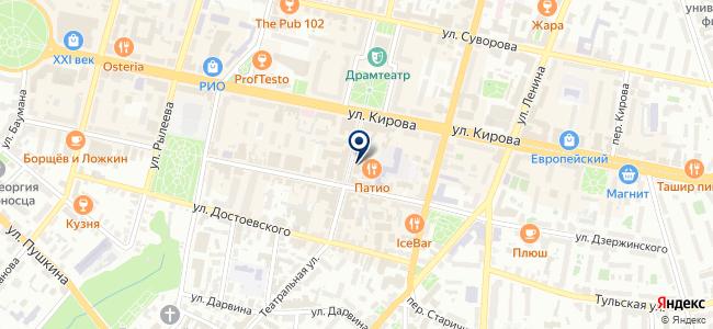 Мастерская интерьера, магазин уникальной мебели и светотехники на карте
