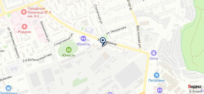 ИнтерЛед на карте