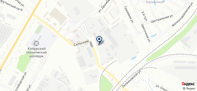 База АКБ, торговая компания на карте