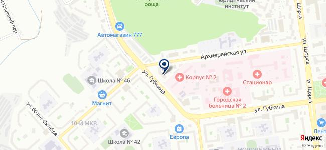 Ампер, ООО на карте