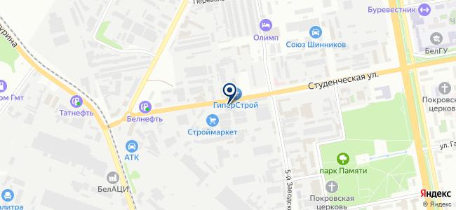 МегаВольт на карте