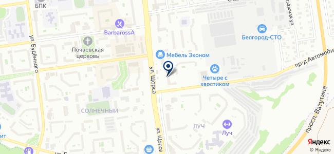 Современные технологии, ООО на карте