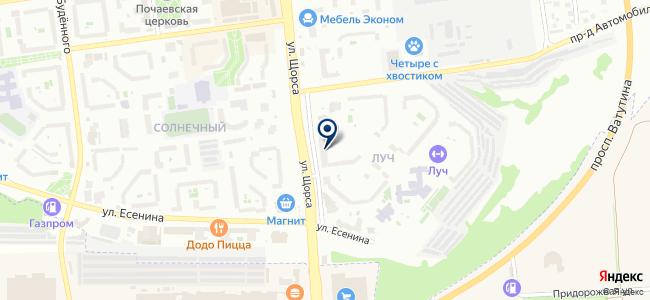 БЕЛНВ на карте