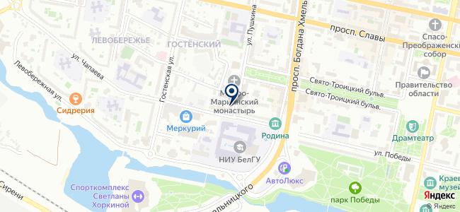 Южкабель на карте