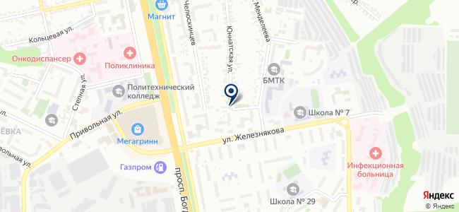 Глобус, ООО на карте