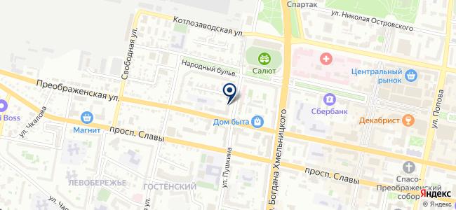 Электростиль на карте