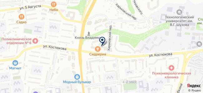 Электроград, ООО на карте