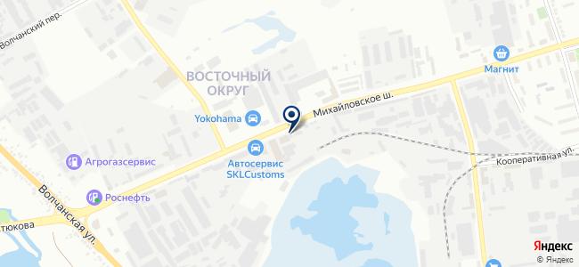 Энерготехресурс, ООО на карте
