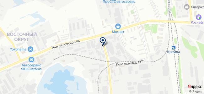 ПроектНаладка на карте