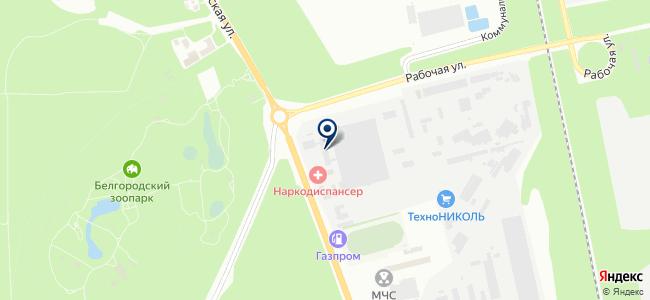 Рефком-Белгород, ООО на карте