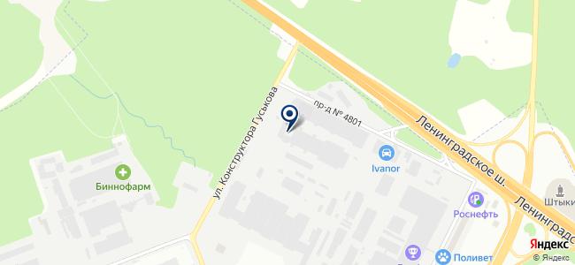 ТехноВотум на карте