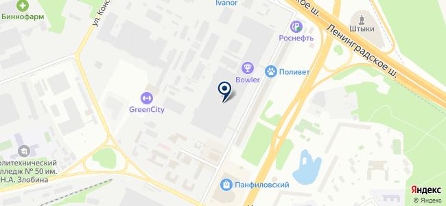 Тпэ-Тяжпромэлектро на карте