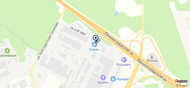 РАДИУС Автоматика, ЗАО на карте