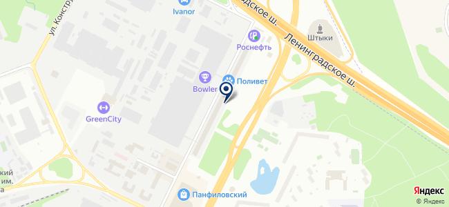 ЭЛЬБРУС 1 на карте
