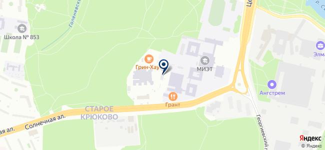 Инновационный центр новых технологий на карте