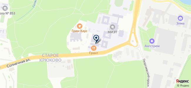 Технологический центр на карте