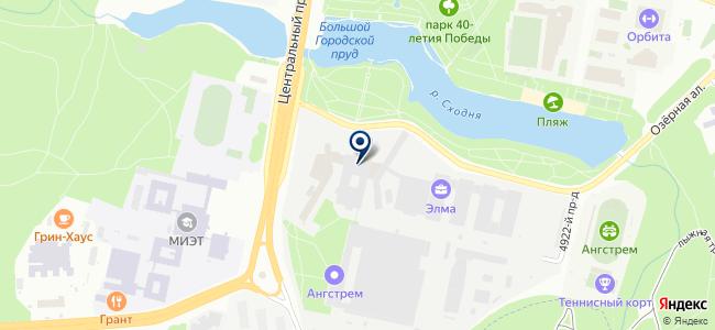 ЭСТО-Вакуум на карте