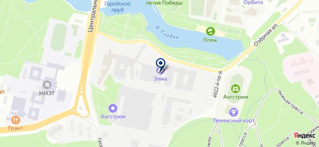 Практик-НЦ, ОАО на карте
