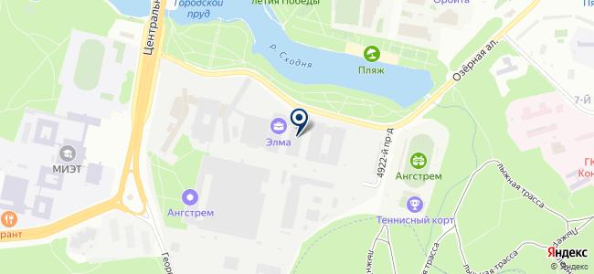 Энергомера, ЗАО на карте