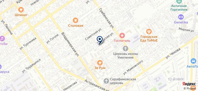 Круг, ООО, электромонтажная компания на карте