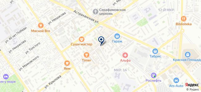 ТехТовары на карте