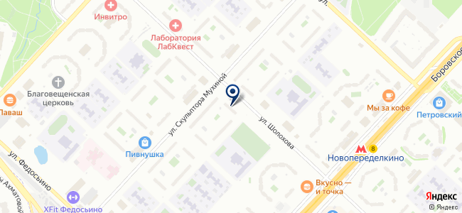 ТензоПрибор, ООО на карте