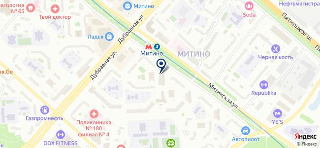 Мастер Плюс на карте